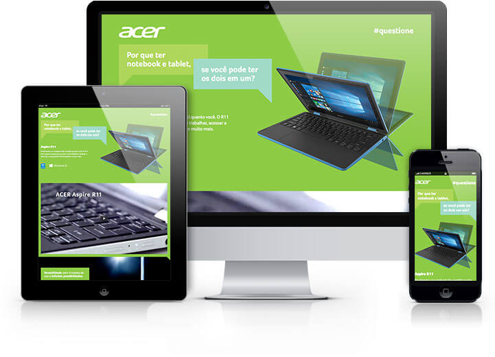 Acer Landing Pages